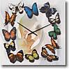 """Часы настенные """"Хоровод бабочек"""" (300мм) [Стекло, Открытые]"""