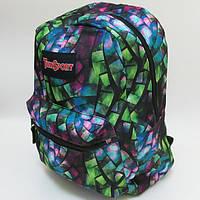 """Молодежный рюкзак с карманом Josef Otten """"Квадраты"""" 522105"""