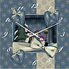 """Часы настенные """"Зимний праздник"""" (300мм) [Стекло, Открытые]"""