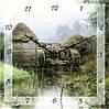"""Часы настенные """"Мельница"""" (300мм) [Стекло, Открытые]"""