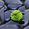 """Большие настенные часы """"Контраст"""" (450мм) [Стекло, Открытые]"""
