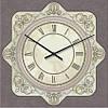 """Часы в провансе """"Прованс - Узор"""" (450мм) [Стекло, Открытые]"""