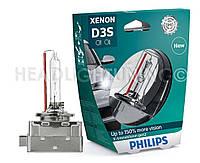 Ксеноновая лампа  Philips D3S X-tremeVision gen2 42403XV2S1 +150%, фото 1