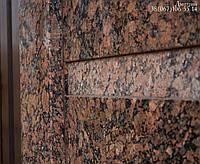Фасады из гранита и натурального камня Коричневый