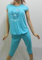 "Женская пижама футболка и бриджи ""Hello Kitty"""