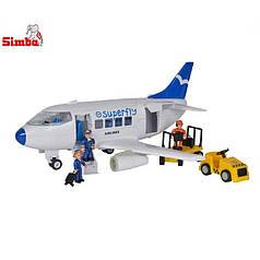 Транспорт Simba Самолет с фигурками (4355408)