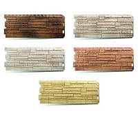 Фасадные панели «скалистый камень» цокольні панелі альта профиль