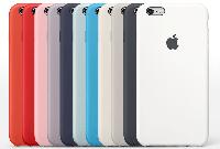 Силиконовый чехол (накладка) Apple iPhone 6S Plus Silicone case Оригинал