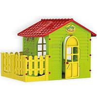 Домик для детей c терасой Mochtoys 10839