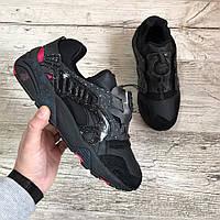 Мужские кроссовки CROSSOVER X PUMA DISC BLAZE Black