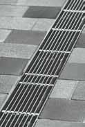 Решетка продольный прут 100см., А15, нержавеющая сталь, для каналов V 100 крепления DRAINLOCK, фото 1