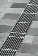 Решетка продольный прут 50см., А15, нержавеющая сталь, для каналов V 100 крепления DRAINLOCK