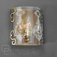Бра LA LAMPADA WB 116/1.40 GRANIGLIA GLASS