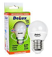 Светодиодная лампа DELUX BL50P 7 Вт 2700K 220В E27