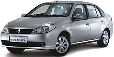 Фаркопы на Renault Symbol (с 2002---)