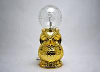 Светомузыкальная Лампа LED Сова, диско-шар