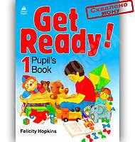 Підручник Англійська мова 1 клас Get Ready 1 Pupil's Book Авт: Felicity Hopkins Вид-во: Oxford