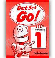 Робочий зошит Англійська мова 1 клас Get Set Go 1 Workbook Авт: Cathy Lawday Вид-во: Oxford