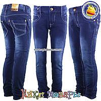 Стрейчевые лосины из джинсовой ткани для девочек от 7 до 11 лет (oj5005)