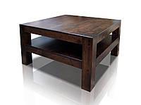 Журнальный столик из ольхи