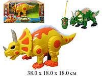 Динозавр  на радиоуправлении 7587 желтый