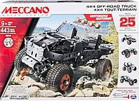 Конструктор 25 моделей авто Spin Master 6028599 Meccano