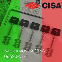Блок ключей CISA 06520-51-1 // 20306