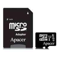 Карта памяти APACER microSDHC 16 Gb UHS-I U1+adapter // 6315948