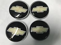 Chevrolet Trailblazer 2002+ гг. Колпачки в титановые диски 55мм (4 шт)