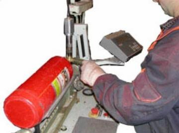 Перезарядка огнетушителей, ТО пожарных кран-комплектов
