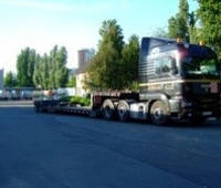 Аренда низкорамного раздвижного трала MAN 40 т