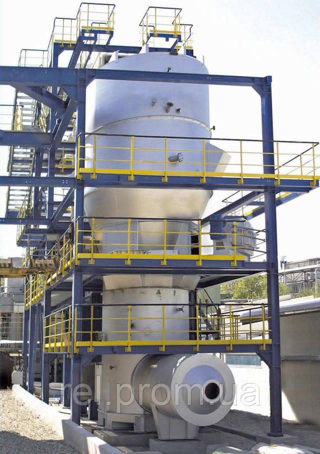 Реактор кипящего слоя в Гендорфе