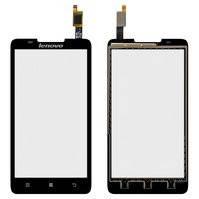 Сенсорный экран для мобильных телефонов Lenovo A656, A766, черный