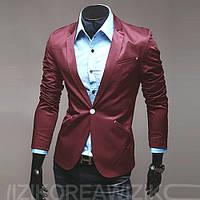 Стильный пиджак на одной пуговице 48р. 48