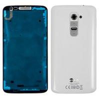 Корпус для мобильного телефона LG G2 D802, белый