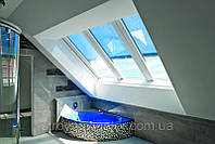 Roto Azuro - панорамное мансардное окно