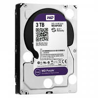 Жесткий диск Western Digital Purple 3TB 64MB WD30PURX 3.5 SATA III // 14028