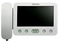 Видеодомофон Kenwei  E705FC black / white // 41067