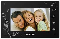 Видеодомофон  KOCOM KCV-A374SD BLACK / WHITE // 41087
