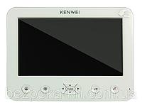 Видеодомофон Kenwei   E706FC-W80 (WHITE) // 41284