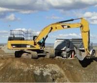 Механизированная разработка грунта