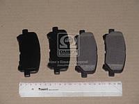 Колодка тормозная ACURA MDX 07-  HONDA PILOT 09- задн. (производство SANGSIN) (арт. SP1461), ACHZX