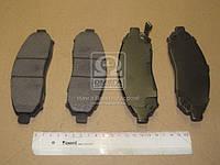 Колодка торм. NISSAN NAVARA D40 2.5DCI 05- передн. (пр-во SANGSIN) SP1460