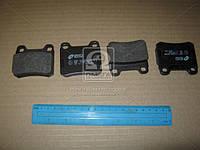 Колодка торм. MB 190 (W201), C-CLASS (W202) задн. (пр-во REMSA) 0157.10