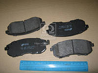 Колодка торм. NISSAN CUBE 1.5DCI 10-,TIIDA 1.5DCI-1.8 07-;SUZUKI SX4 06- передн. (пр-во REMSA) 0293.11