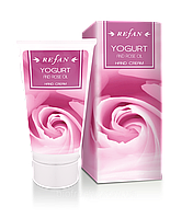 Крем для рук Йогурт и Розовое масло, болгарская натуральная косметика Рефан