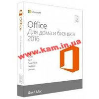 Офисный пакет Microsoft Office 2016 для Mac для дома и бизнеса English для 1 ПК (W6F-00855)