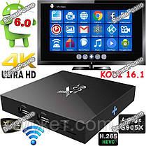 Смарт ТВ приставка X96(1 ГБ ОЗУ) + Air пульт T2, фото 3