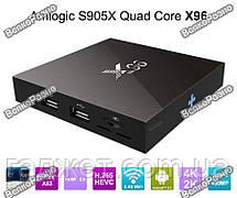 Смарт ТВ приставка X96(1 ГБ ОЗУ) + Air пульт T2, фото 2