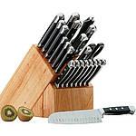 Кухонные ножи, точила, колоды и планки